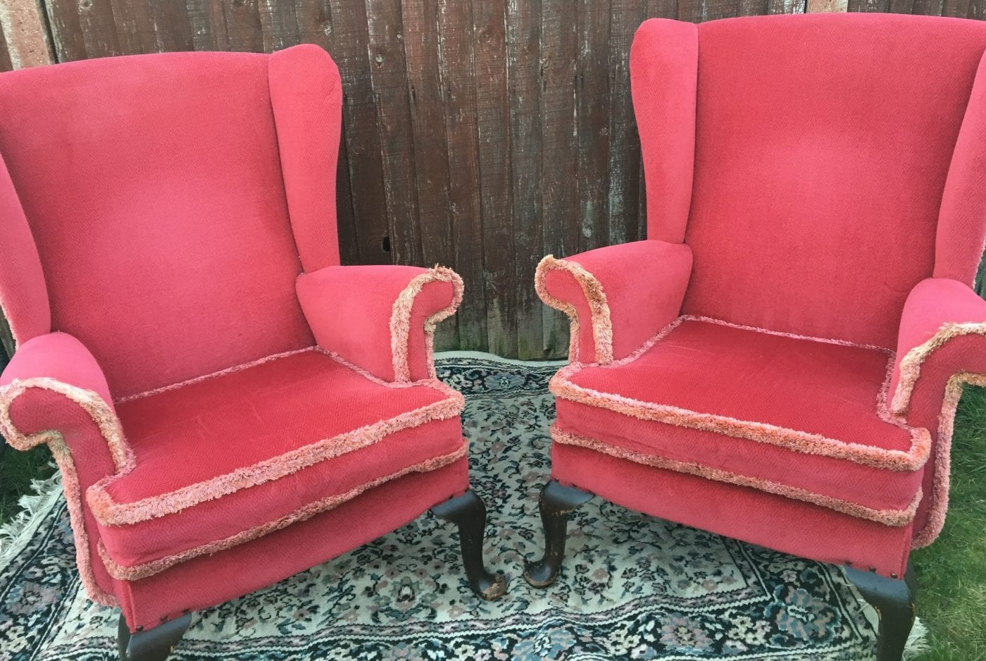 Vintage armchair set £50
